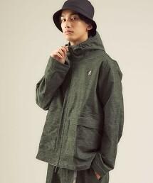 【特別訂製】<GRAMICCI/green label relaxing> AMERICAN VELVETEEN 連帽 上下拉鍊夾克