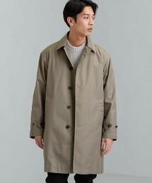 < 機能性 / 防潑水 > SC T/C 寬鬆 巴爾瑪肯領大衣 #