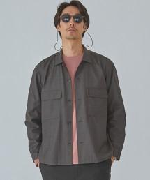 CM 可手洗 ECO 嗶嘰布 襯衫式夾克 < 機能性材質 / 彈性 >
