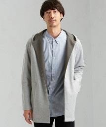 CM 雙層布料 連帽外套 LS / 對襟外套