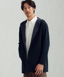 CM 雙面布料 連帽對襟外套