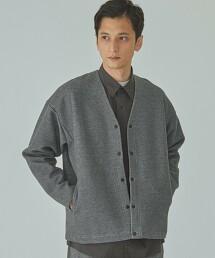 home [ Livelihood ] 瓦楞組織 對襟外套