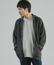 CM ★★ 鈕釦帶 絲瓜領對襟外套 < 機能性 / 可手洗 >