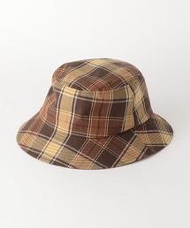 SC GLR 馬德拉斯格紋 漁夫帽
