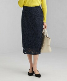 CNl 蕾絲 長窄裙