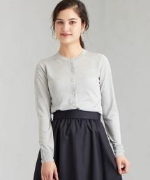 [可手洗/抗UV]  D 蠶絲 對襟外套