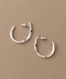 【Chainon】SV925橢圓環 耳釘