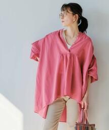 CFC 巴里紗寬袖純棉中長版套衫