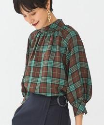 FFC 方格紋 / 素色 罩衫
