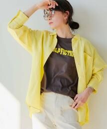 [ 克特雷特亞麻 ] SC 寬版襯衫