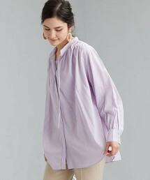 FFC 雙層棉紗 抽褶罩衫
