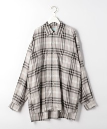 『BRACTMENT』 Undulate 格紋寬版襯衫 日本製
