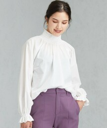 [dahl'ia×GLR]CFC 特別訂製 褶邊罩衫 日本製