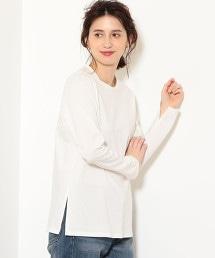 NFC 長袖 開衩 長版 T恤