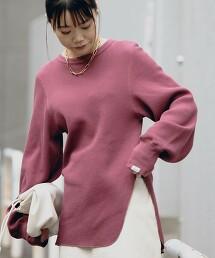 [ Tanacana ] SC 鬆餅織 開衩罩衫