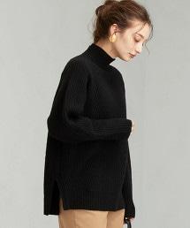 [ HAMILTON ]  SC 半畦編 高領 毛衣