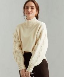FFC 麻花織袖 毛衣