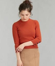 [可手洗] FFC 袖釦 高領 針織上衣