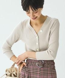 [可手洗] FFC 羅紋 鈕釦 針織衫