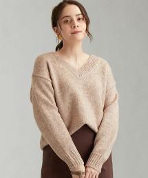 FFC 長絲纖維 LY V領 套頭上衣 針織毛衣