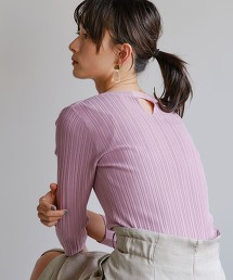 [可手洗] FFC 隨機抽針 圓領針織衫