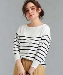 [可手洗] FFC 澎袖船領針織衫