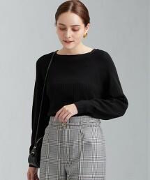 [ 可手洗  ] FFC 羅紋 船領針織罩衫