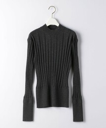 『BRACTMENT』 BM CASH/W 寬版羅紋 高領 毛衣16GG