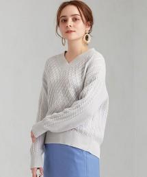 [可手洗] CFC 金蔥 麻花針織衫