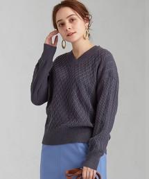 [可手洗] CFC 金蔥 麻花針織衫 OUTLET商品