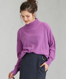 CFC W/RY/N 寬版高領針織衫 ※