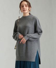 FFC 長袖針織長版罩衫
