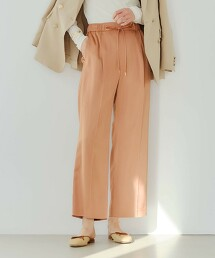 FFC 緞面 直條紋寬褲