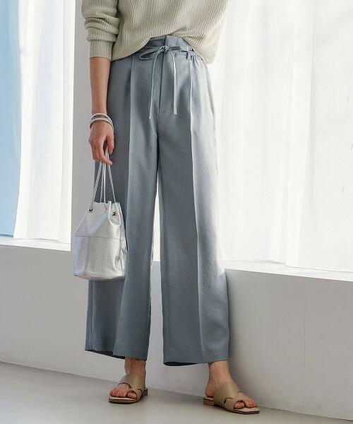◆FFC 三醋酸纖維 / PE 直筒寬褲