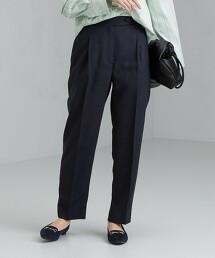 ◆FM 三醋酸纖維 素色錐形褲
