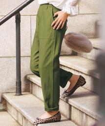 ◆SC 棉背緞 工裝褲