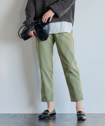 ◆SC 緞面 大口袋軍褲