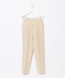 【先行預購】『BRACTMENT』 Li/棉質 人字紋 打褶褲