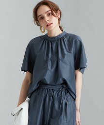FFC 棉 / 蠶絲 立領套衫