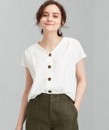 FFC R/棉 BIG鈕釦 罩衫