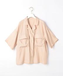 『BRACTMENT』 色丁 短袖 獵裝襯衫