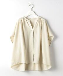 CFC 聚酯纖維 抽摺 罩衫