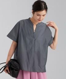 FFC KARL MAYER fabric 繭型 開襟領 罩衫 <FREE尺碼>