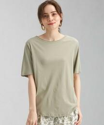 SC STD 圓弧下襬 圓領短袖T恤