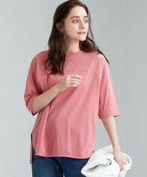 SC 染料 6分袖 T恤