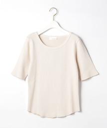SC 印染 羅紋 五分袖 套頭 T恤