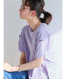 CFC 開衩 設計款 短袖 套頭衫