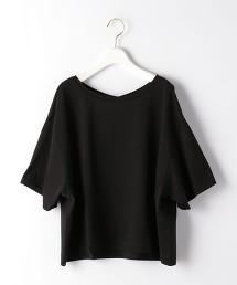 FFC 寬版 五分袖 套頭T恤