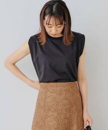 FM PLT 側開衩 無袖 套頭T恤 日本製