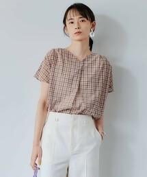 FFC  格紋 MEYER 開領罩衫 日本製